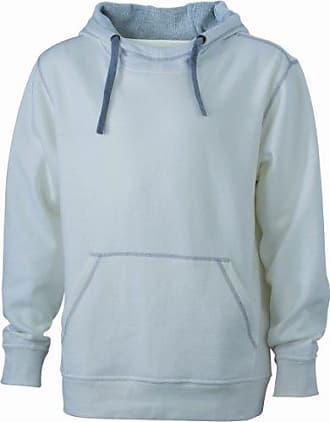 Mens Kapuzensweatshirt Mens Lifestyle Hoody Long Sleeve Sweatshirt James & Nicholson