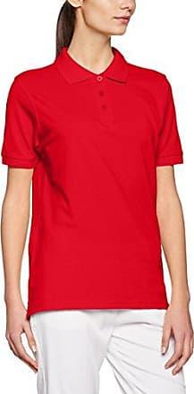 James & Nicholson Ladies´ Workwear, Polo para Mujer, Rojo (Wine Wine), 38 (Talla del Fabricante: Medium)