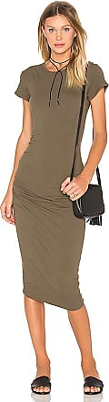 Classic Skinny Dress in Army. - size 0 (XXS/XS) (also in 1 (XS/S),2 (S/M),3 (M/L)) James Perse