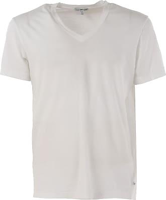 Camiseta de Hombre Baratos en Rebajas, Carbón, Algodon, 2017, 46 48 50 James Perse