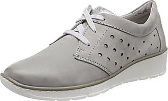 Jana 23600, Zapatillas Para Mujer, Gris (Lt. Grey), 37 EU