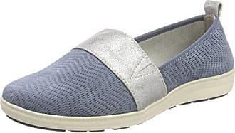 24320, Mocasines para Mujer, Azul (Jeans), 38.5 EU Jana