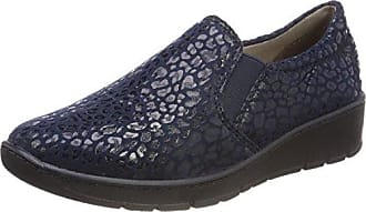 Lazer, Náuticos para Mujer, Blue (Navy Leather), 42 EU Lotus