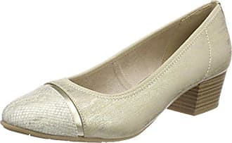 Jana Damen 22300 Pumps, Gold (Lt. Gold), 36 EU