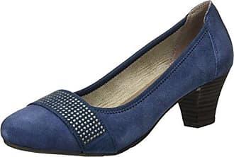 223 740, Zapatos de Tacón con Punta Cerrada para Mujer, Azul (Jeans), 40 EU Jane Klain