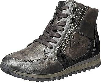 25203 - Zapatillas Altas para Mujer, Color Plateado (Silver Comb 948), Talla 38 EU Jana