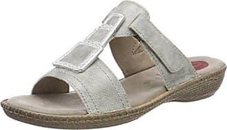 Jana Da-Pantolette Größe 39 Grau (Grey)