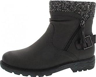 JANA - 25416 - Damen Kurzschaft Stiefel - Braun Schuhe in H Weite, Farben:Braun;Größe:41;Weite:H