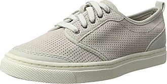 Jana 23706, Zapatillas Para Mujer, Blanco (White/Silver), 38 EU