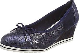 Jane Klain 224 034, Zapatos de Tacón con Punta Cerrada para Mujer, Azul (Navy), 41 EU