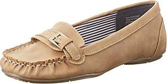 Ganter GRACE, Weite G - mocasines para mujer, color weiß (weiss 0200), talla 42.5