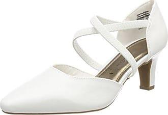 Coast Iris, Zapatos de Tacón con Punta Cerrada para Mujer, Hueso (Neutral), 37 EU
