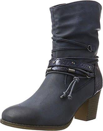 Jane Klain Damen Stiefelette Cowboy Stiefel, Braun (450 Cognac), 41 EU