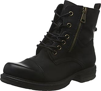 Jane Klain Damen 262 284 Combat Boots, Silber (Gun Metal), 37 EU