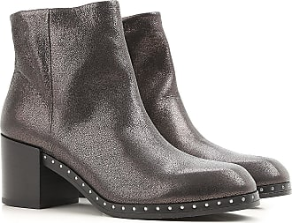 Boots for Women, Booties On Sale, Black, Leather, 2017, 2.5 3.5 4.5 5.5 6.5 Janet & Janet