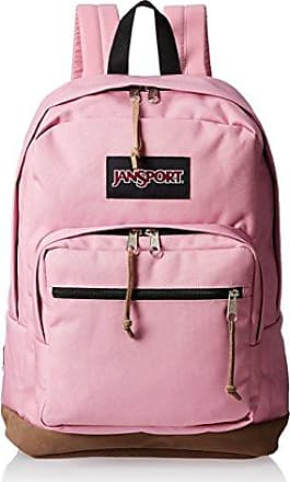 Jansport - - Unisex-Erwachsene Rucksack mit rechter Packung, O/S, Pink Blush Jansport