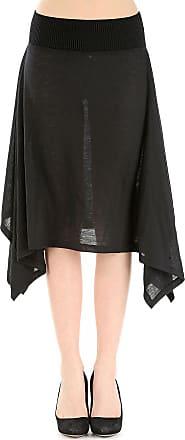 Skirt for Women On Sale, Black, Virgin wool, 2017, 26 28 30 Jean Paul Gaultier