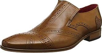 Jeffery West K106, Zapatos de Cordones Oxford para Hombre, Azul (Navy Navy), 40 EU