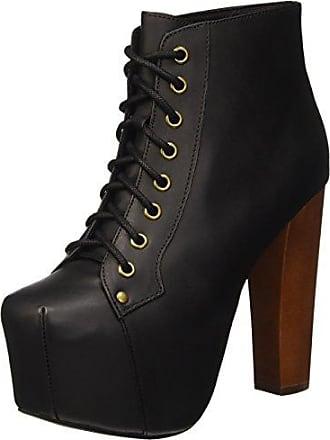 Jeffrey Campbell High-Heel-Stiefelette, mit schöner Verzierung, schwarz, EURO-Größen, schwarz-multi