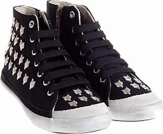 HighCut Can lion stud sneakers Jeffrey Campbell