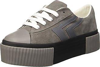 Jcpzomgvelvet - Sneakers Basses - Femme - Noir (Velvet Black/White/Sole) - 37Jeffrey Campbell
