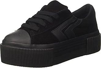 Jcpmongosue, Sneakers Basses Femme - Noir - Nero (Suede Black), 37 EUJeffrey Campbell