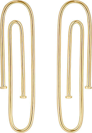 fisher jennifer earrings gold classic plated hoop baby