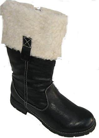 Jenny Damen Dover-STF Stiefel, Schwarz (Schwarz), 39 EU (6 UK)