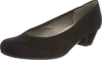 HIRSCHKOGEL 3001508, Zapatos de Tacón con Punta Cerrada para Mujer, Negro (Schwarz 002), 37 EU