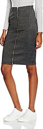 Jennyfer JUE18SUN, Falda para Mujer, Gris (Gris Chine 76), Small