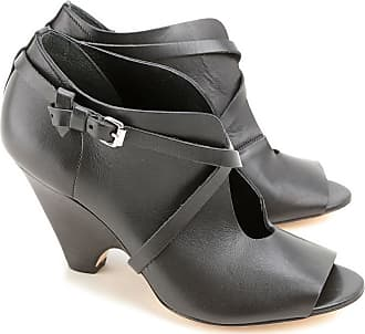 Boots for Women, Booties On Sale in Outlet, Black, Leather, 2017, 3.5 JFK