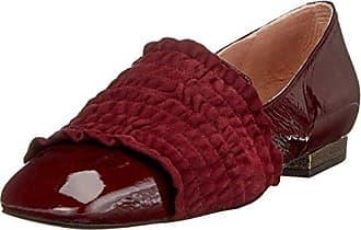 Bugatti J95623, Mocassins Femme, Rouge (Coral 301), 40 EU