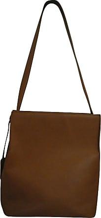 gebraucht - Kleine Handtasche in Ocker - Damen - Leder Jil Sander