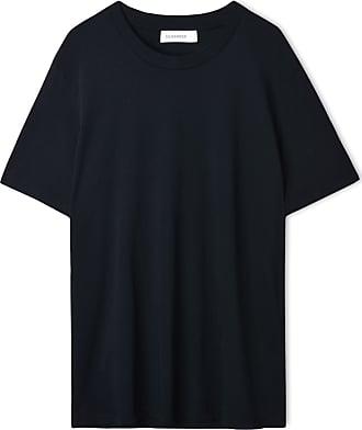Bedrucktes T-shirt Aus Organza - Puder Jil Sander