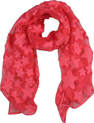 Scarf for Women On Sale in Outlet, Red, Silk, 2017, Universal Size Jimmy Choo London