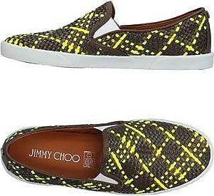 Chaussures plates en cuir à sphère SilviaJimmy Choo London