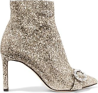 Stivaletti Hanover 85 in suede Jimmy Choo London