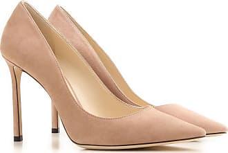 Cuñas para Mujer, Zapatos de Cuña Baratos en Rebajas, Rosa de Té, Piel, 2017, 35.5 38 38.5 40 Jimmy Choo London