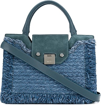 textured tote bag - Blue Jimmy Choo London