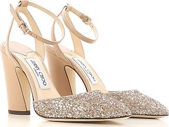Sandales en cuir ornements cristaux NaiaJimmy Choo London