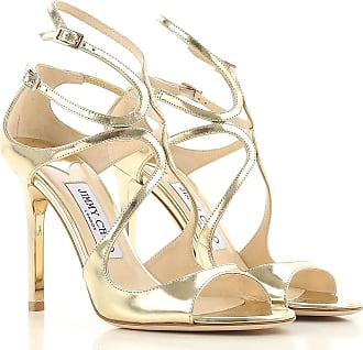 Sandales en cuir ornements cristaux NaiaJimmy Choo London