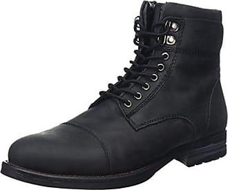 Oiled Leather Biker Boots, Bottes Motardes Homme - Brown (Deep Brown), 44 EU (10 UK)Joe Browns