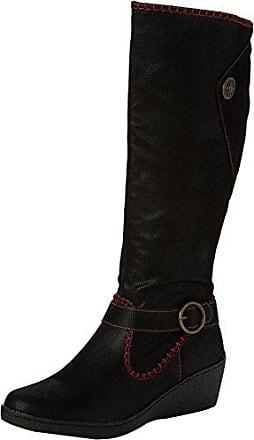 Joe Browns Distinctive Wedge Boots Botas Mujer, Black (Black), 41 (7 UK)