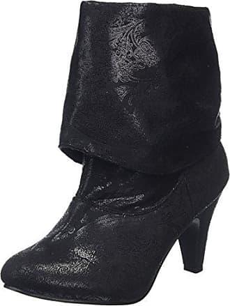 Joe Browns Embroidered Suede, Chelsea Boots Femme, Noir (Black A), 39 EU