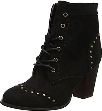 Must Have Oiled Leather Boots, Bottes Rangers Homme - Noir (Schwarz), 43Joe Browns