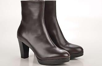 John Baker's Ankle Boot / Schnürstiefelette 5657 Kalbsleder schwarz (black)