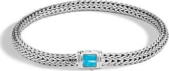 John Hardy Classic Chain Bracelet With Turquoise Xs Natural arizona turquoise