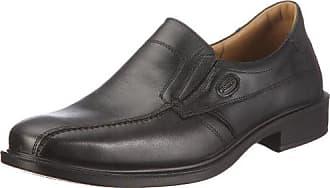 Jomos Classic 206204 23 - Zapatillas clásicas de cuero para hombre, color negro, talla 39