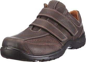 Jomos Man Life - Zapatos de cordones de cuero para hombre, color marrón, talla 43 EU (8.5 Herren UK)