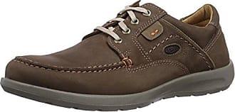 Jomos - Zapatos de cordones de Piel para hombre, color marrón, talla 41